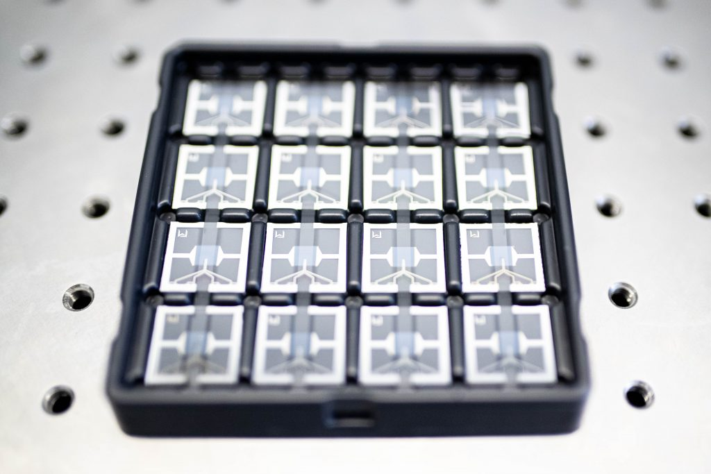 Smart Substrates packed in a box